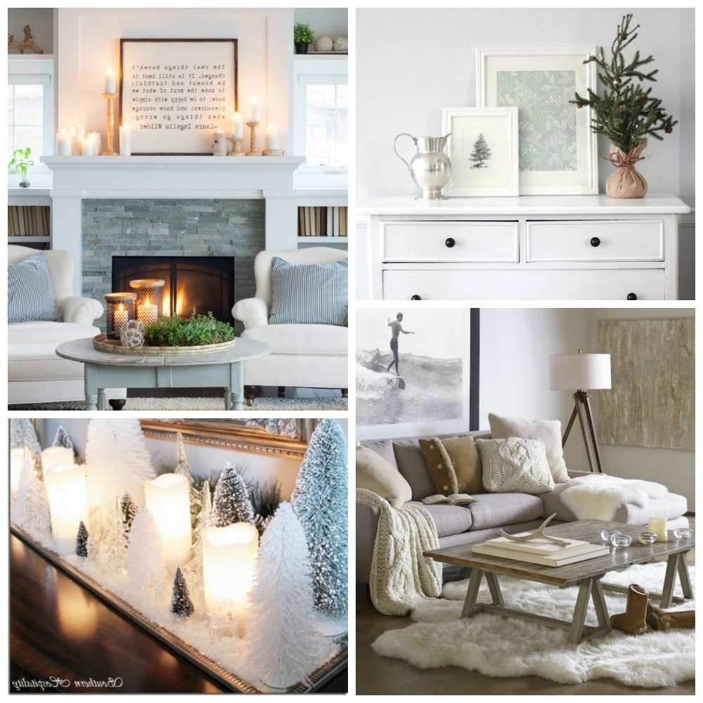 Clean Cozy Neutral Winter Decorating Ideas The Happy Housie