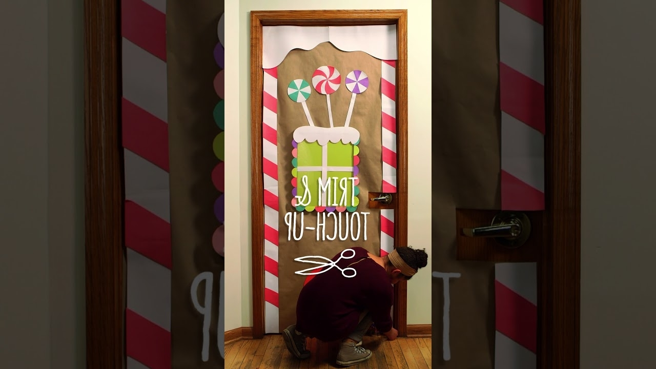 Diy Holiday Winter Classroom Doors