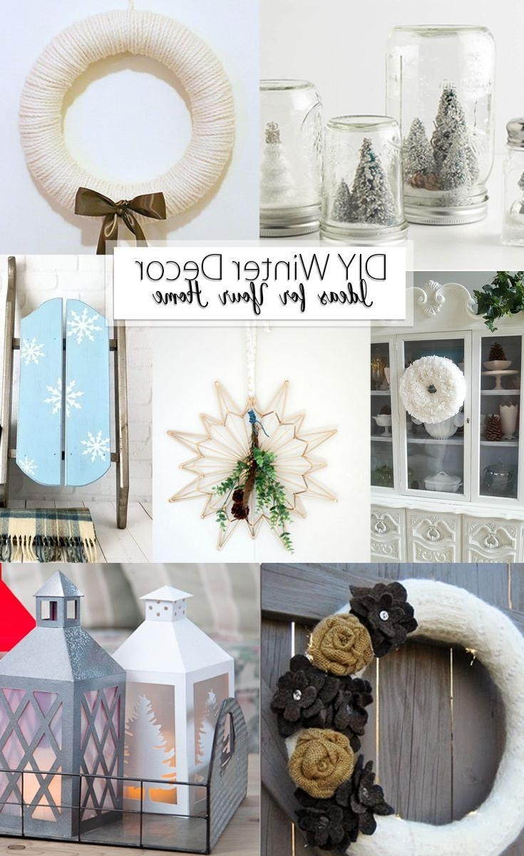 Diy Winter Decor Ideas For Your Home In 2020 Winter