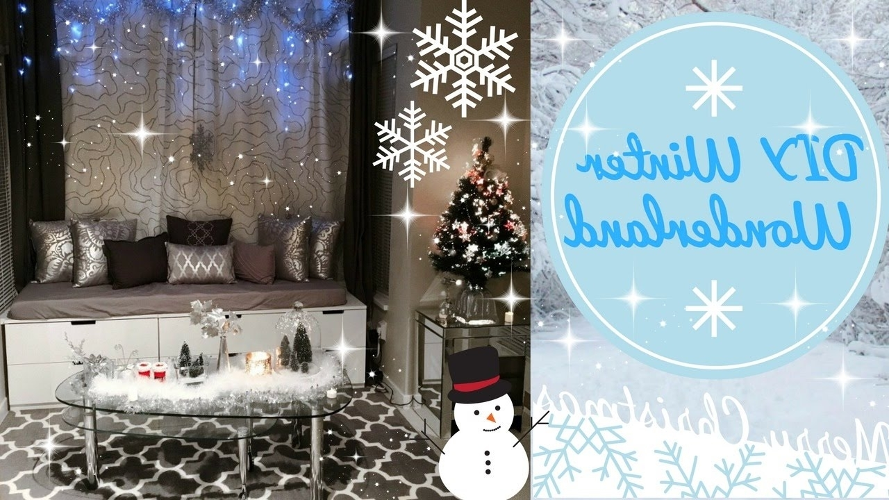 Diy Winter Wonderland Christmas Decorations Angie Lowis
