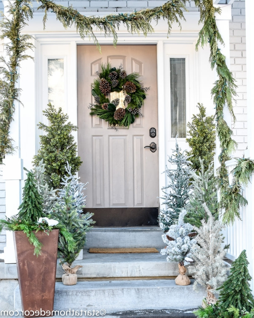 Easy Winter Decor Using Your Christmas Decorations Start