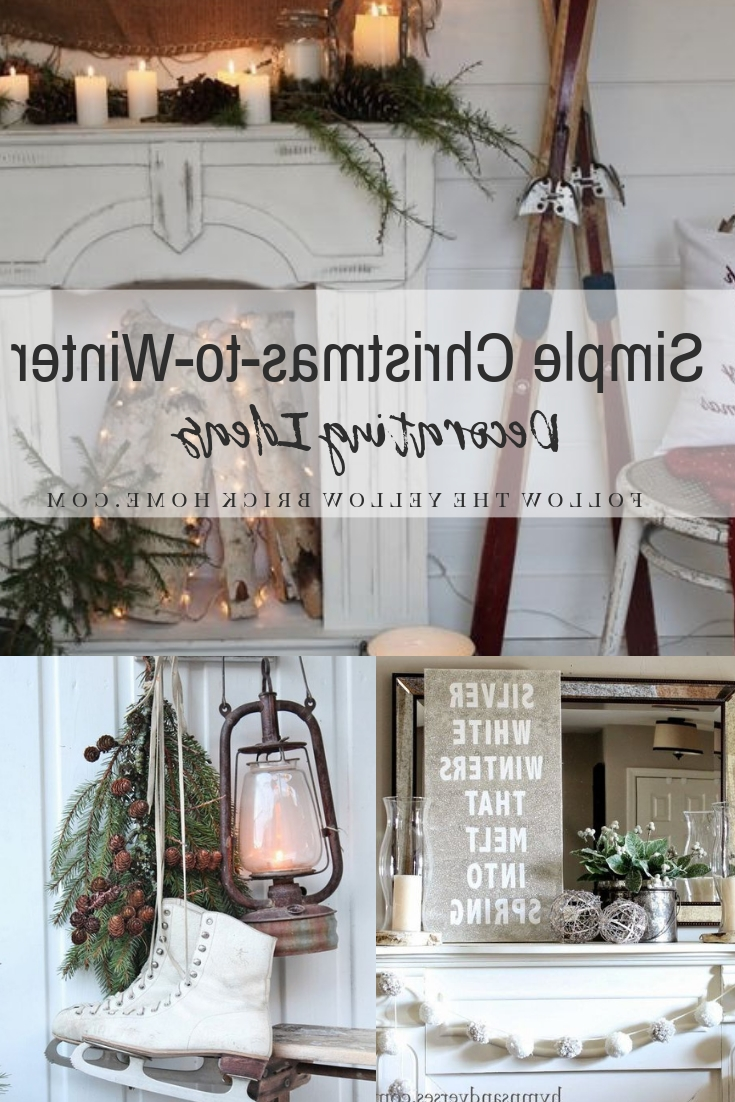 Follow The Yellow Brick Home Simple Christmas To Winter