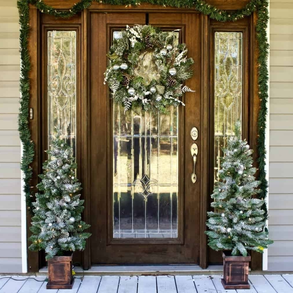 Front Door Christmas Decorating Ideas Homemade Food Junkie