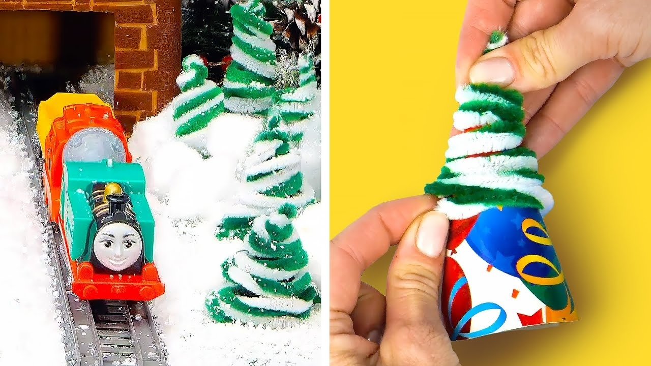 Fun Winter Holiday Decorations Gift Ideas And Funny Crafts For Kids Thomas Friends