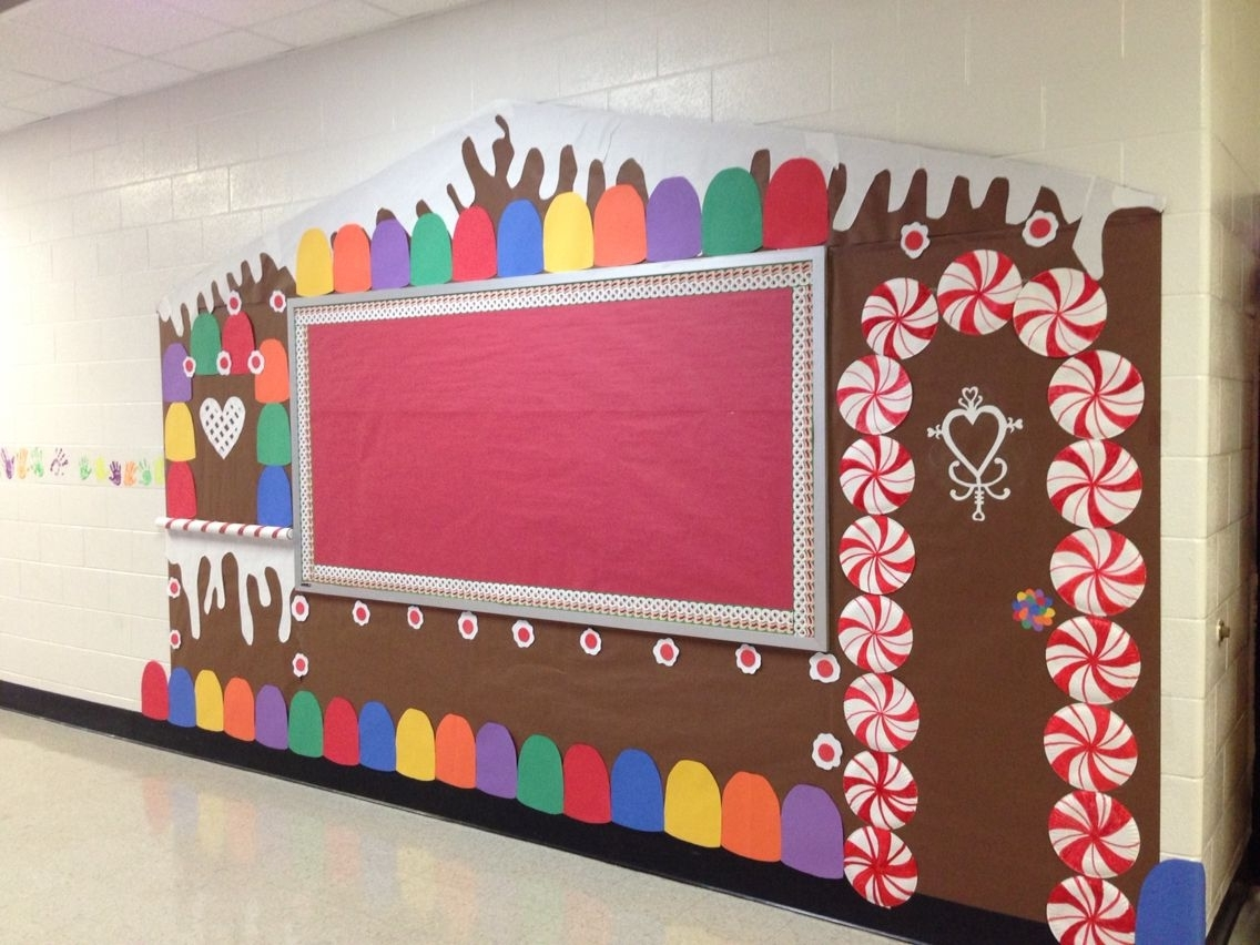 Gingerbread House Bulletin Boardwall From My Classroom