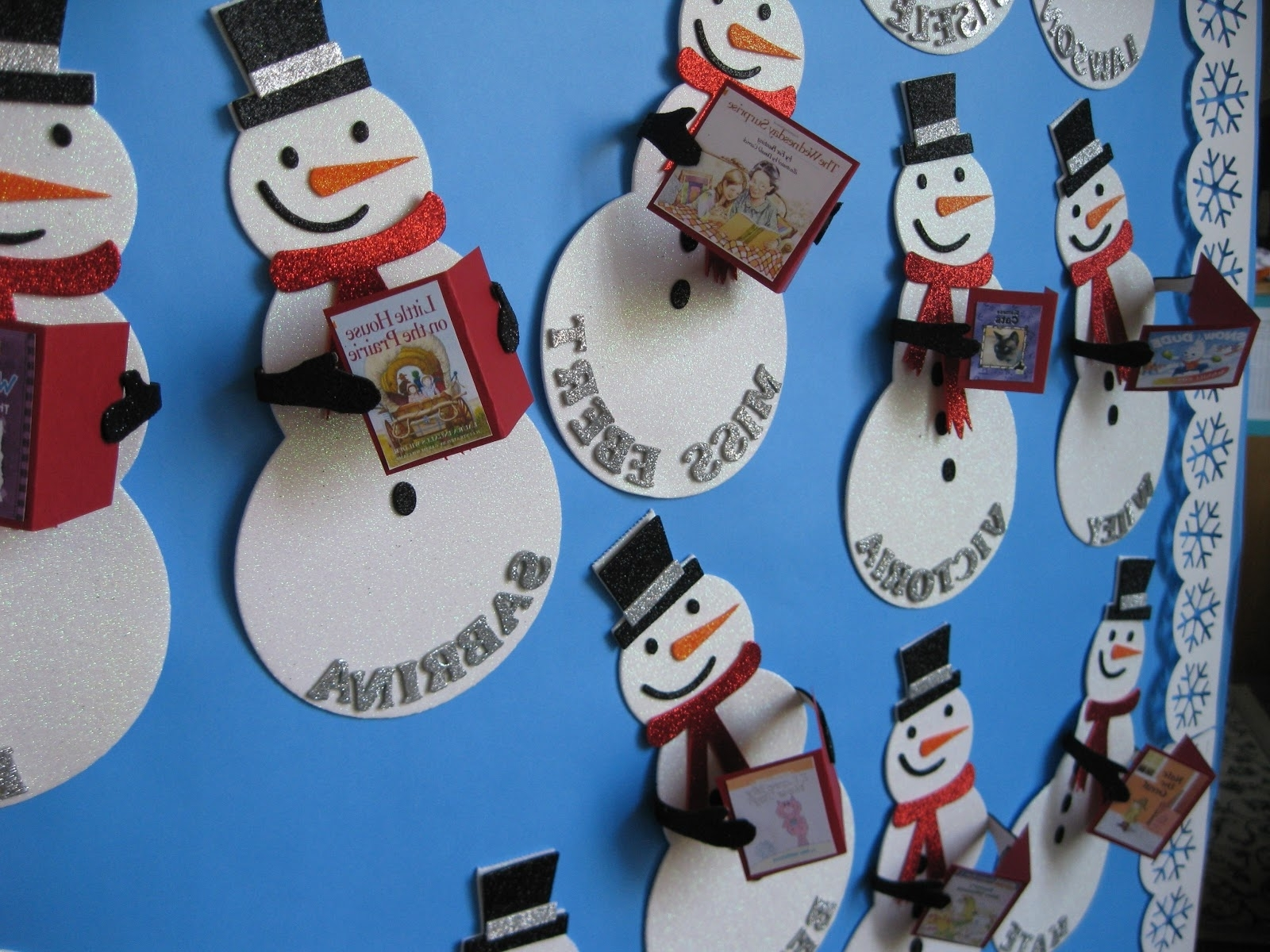 Holiday Door Decorations For Classrooms And Creative But