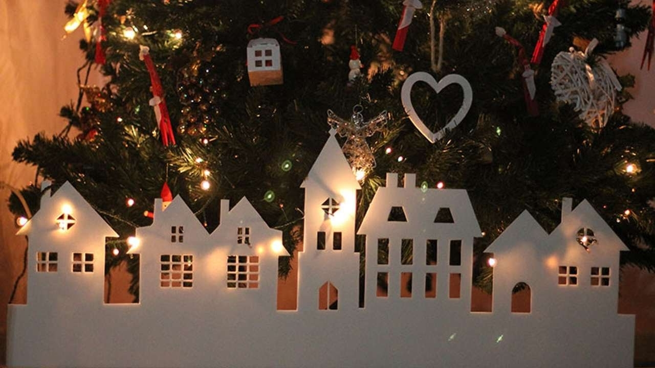 How To Make A Paper Christmas Village Diy Crafts Tutorial Guidecentral
