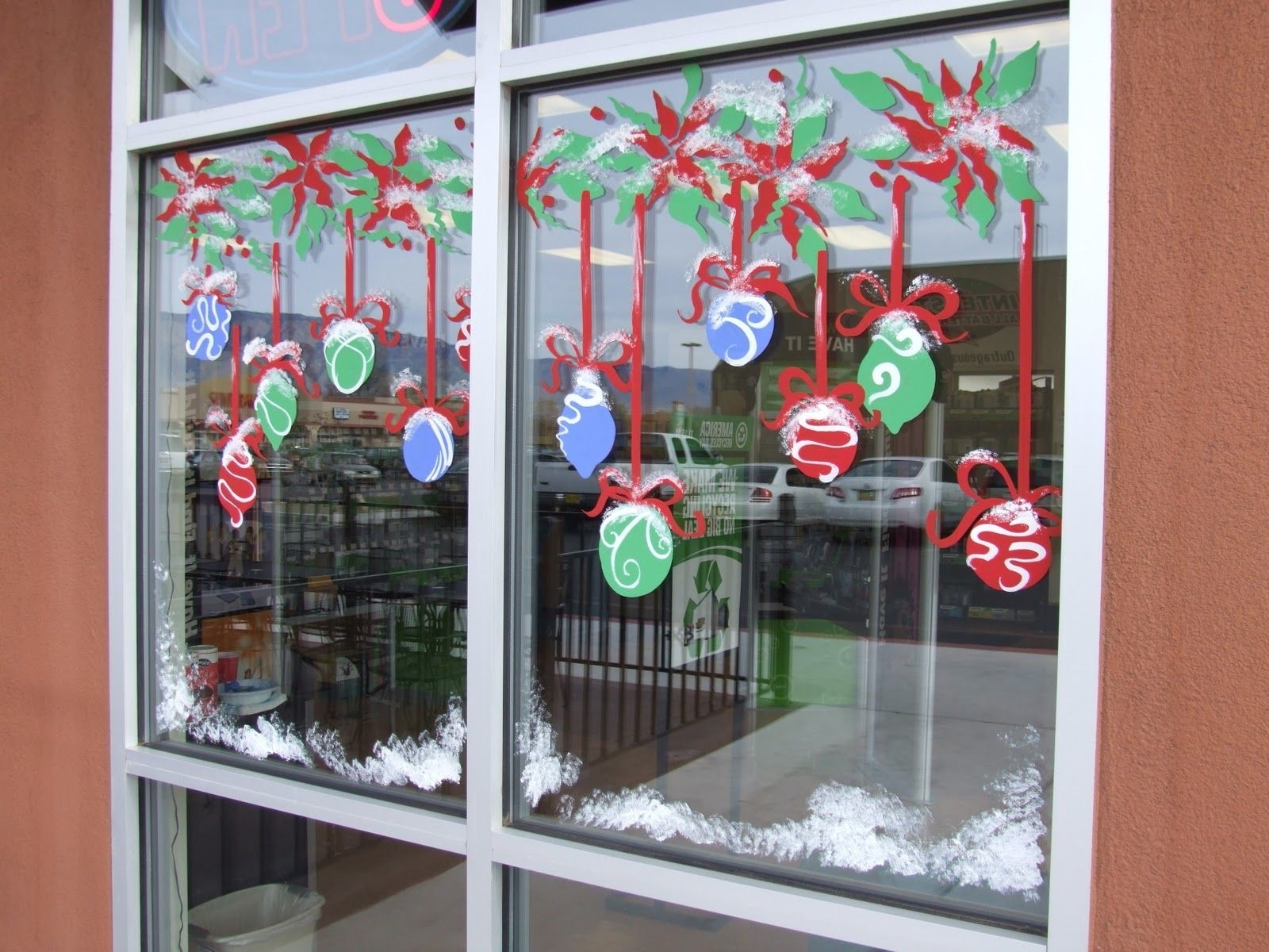 Window Splashes From The Window Painting Pro Christmas