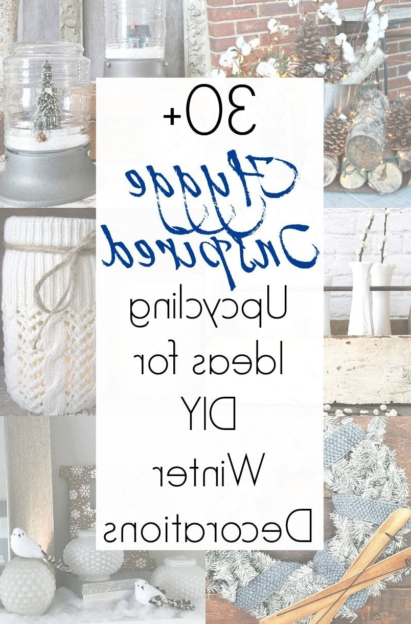 Winter Decor Ideas And Non Christmas Winter Decorations For