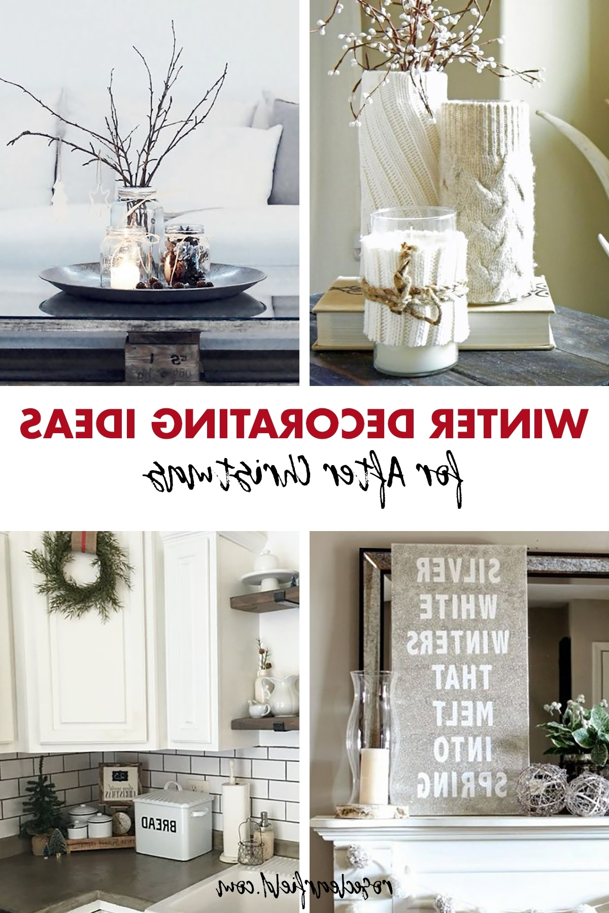 Winter Decorating Ideas For After Christmas Rose Clearfield