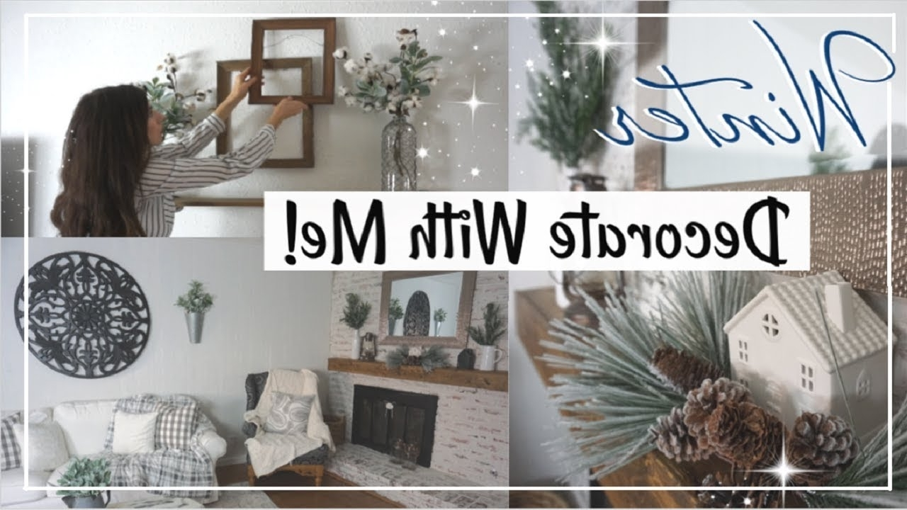 Winter Decorating Ideas Winter Farmhouse Decorate With Me Momma From Scratch