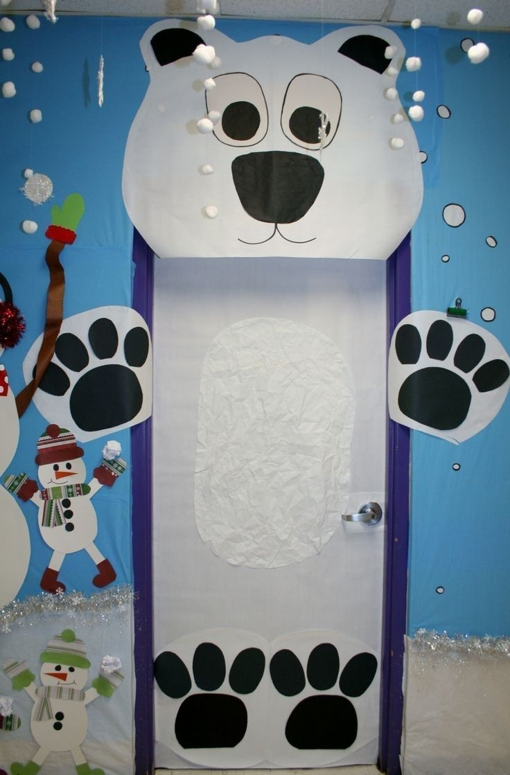 Winter Wonderland Classroom Door Decorating Ideas Nice