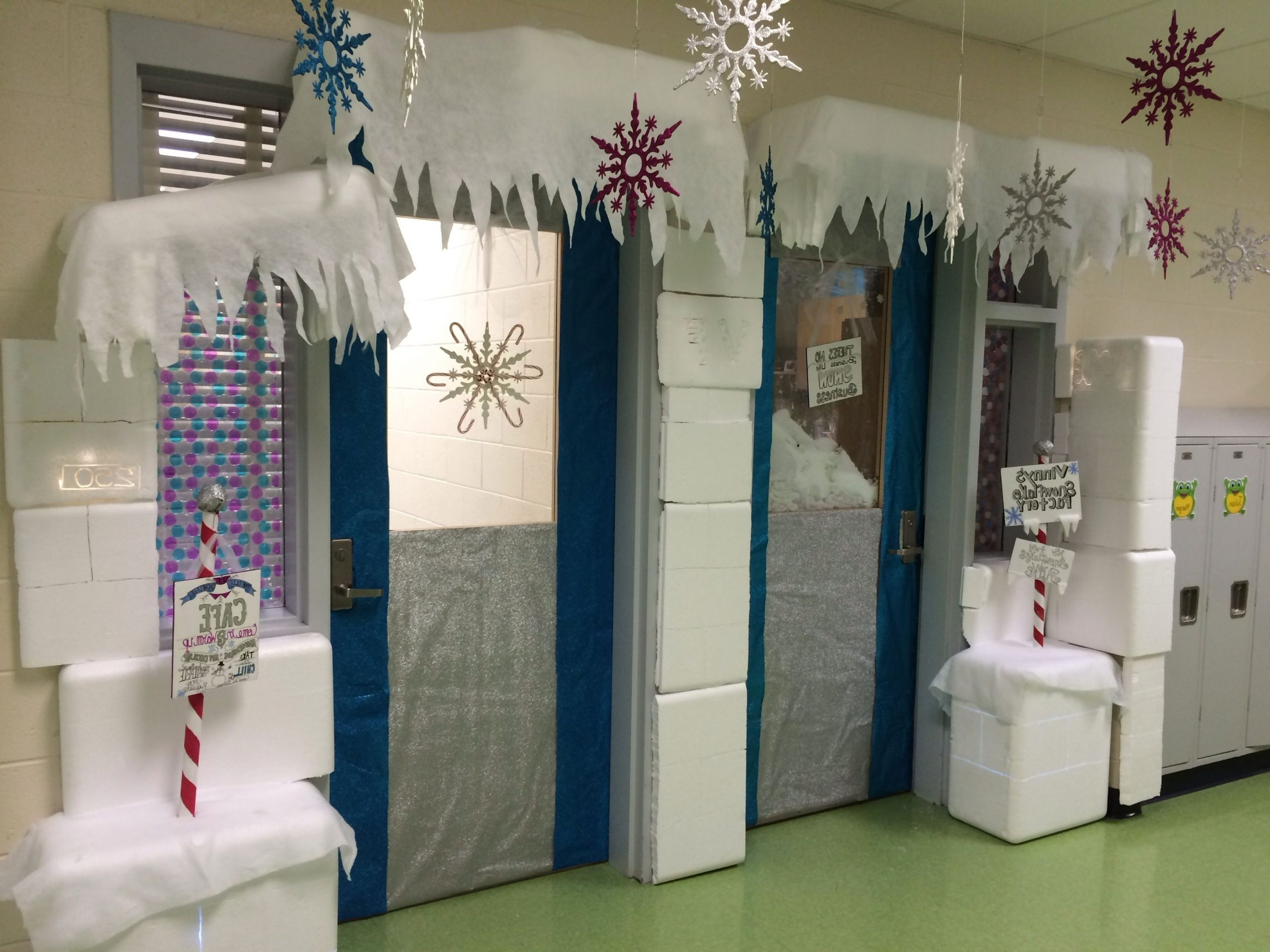 Winter Wonderland Classroom Door Decoration I Had Many