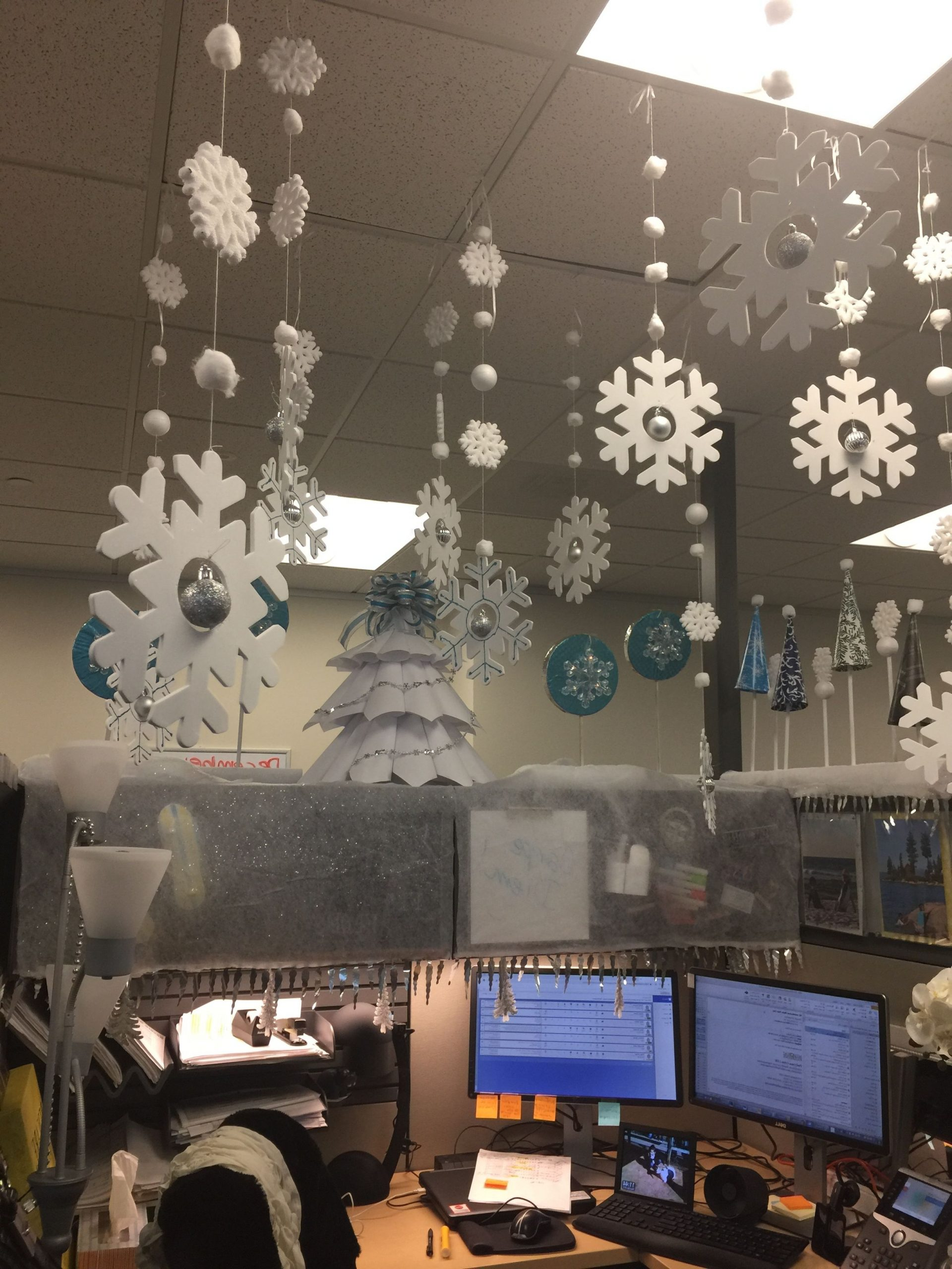 Winter Wonderland Cubicle Decor Office Christmas