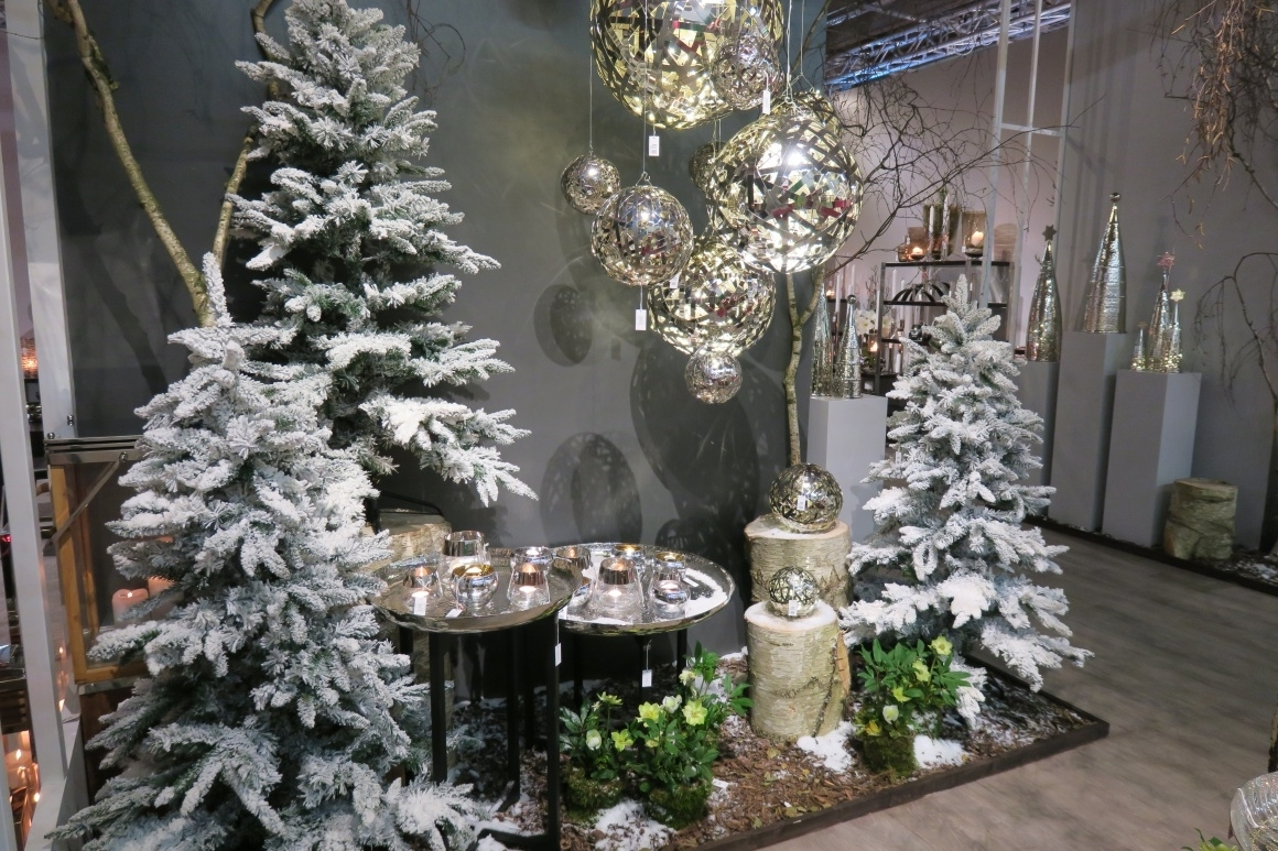 Winter Wonderland In The Store With Decoration Ixtenso