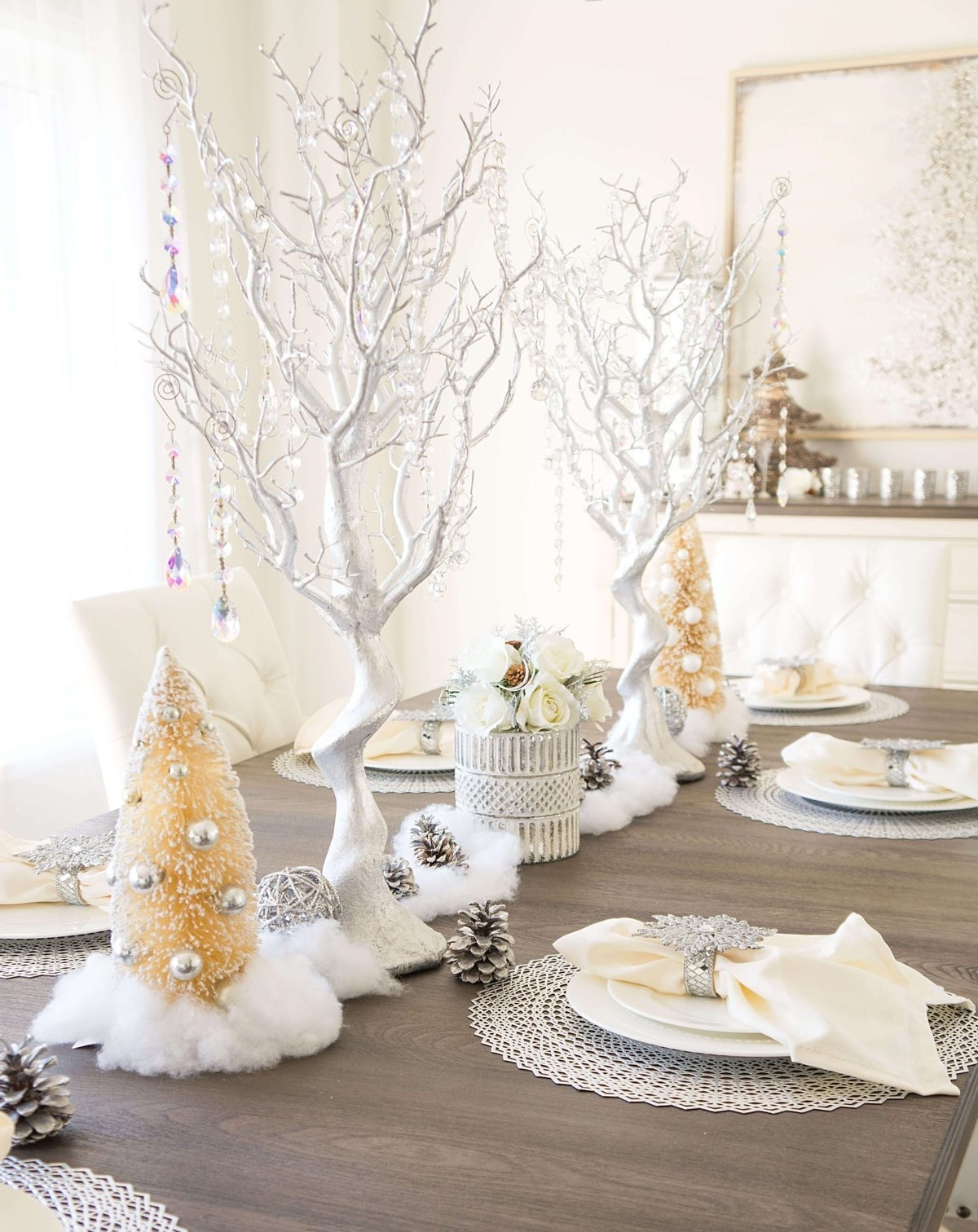 Winter Wonderland Tablescape Haute Healthy Living