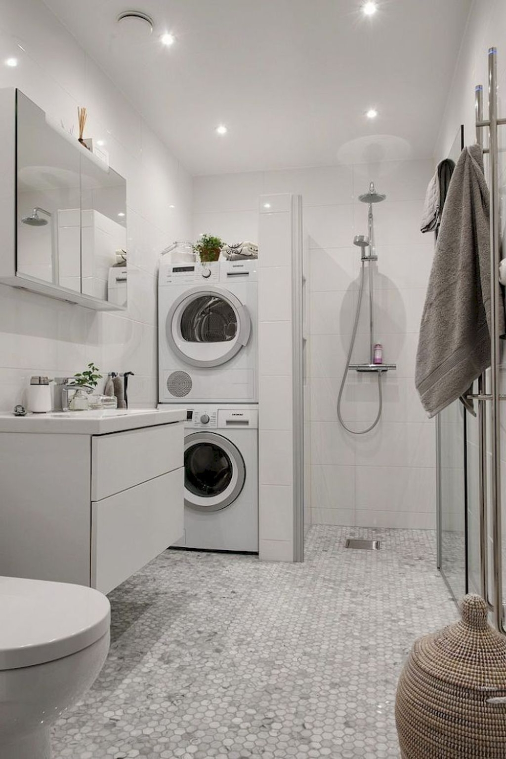 10 Bathroom Laundry Room Ideas 2020 (The Two In One Model 20+ Designs For Laundry Room Bathroom Combination Ideas