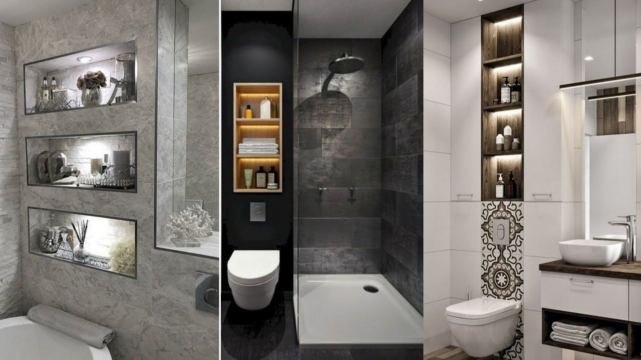 100 Ideas For Bathroom Niches Small Bathroom Storage Ideas 2020 40+ Bathroom Niche Design Ideas