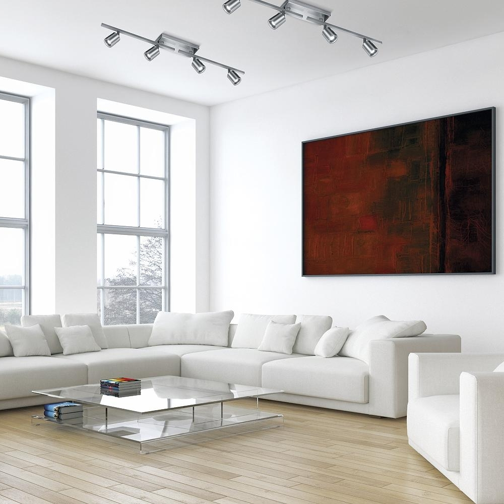 11 Track Lighting Ideas To Get Your Life On Track Recessed Lighting In Living Rooms Examples