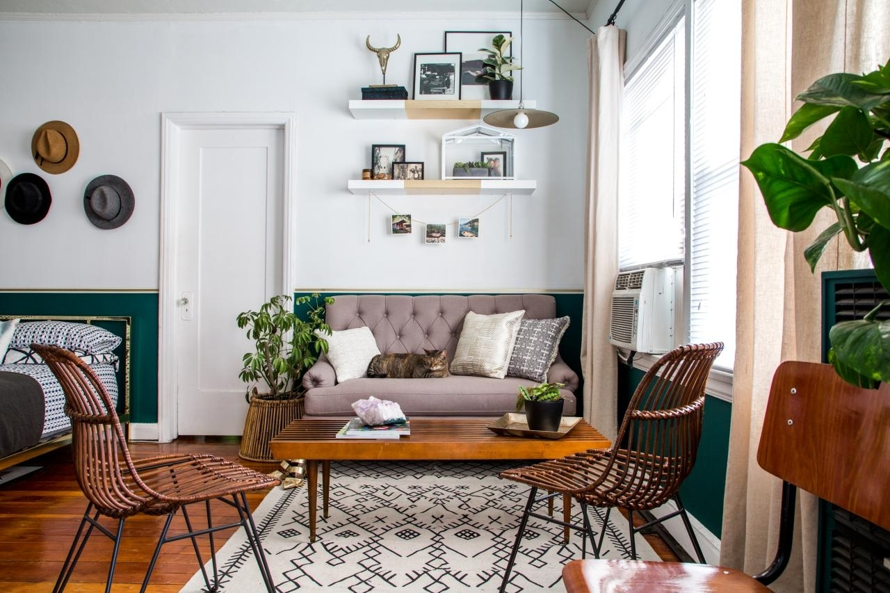 12 Clever Ideas For Laying Out A Studio Apartment | Hgtv'S 30+ Alcove Studio Apartment Design Inspirations