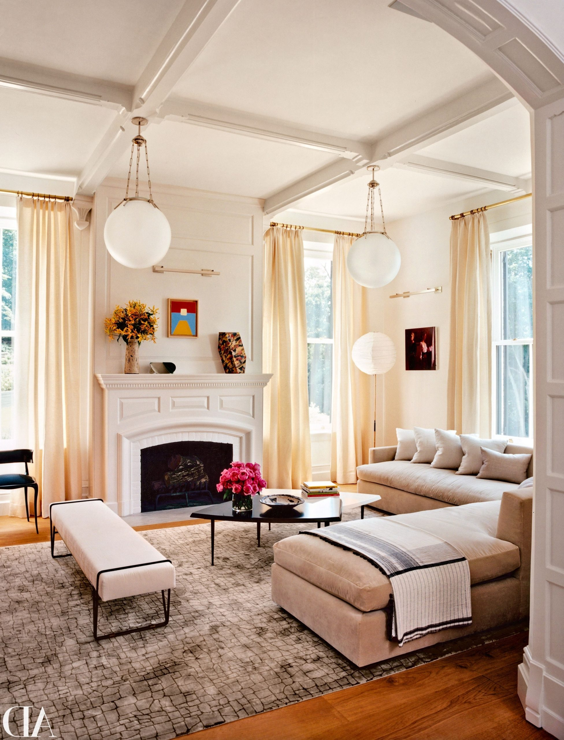 14 Amazing Living Room Makeovers | Architectural Digest 10+ Architectural Digest Small Living Room Ideas
