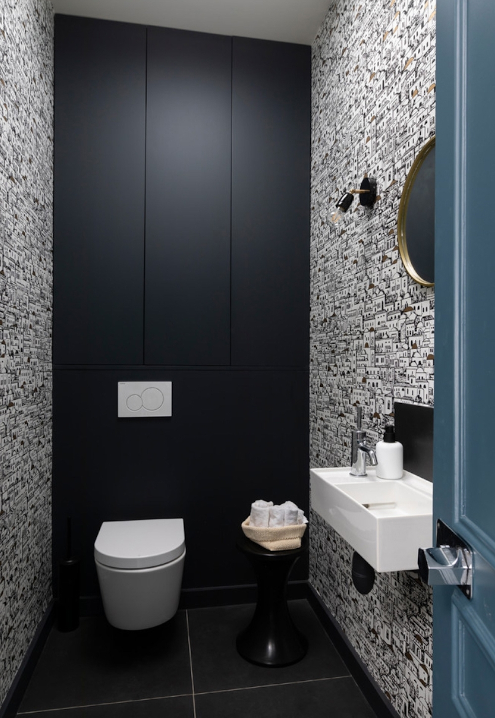 15 Small Cloakrooms That Are Big On Style First Sense Cloakroom Bathroom