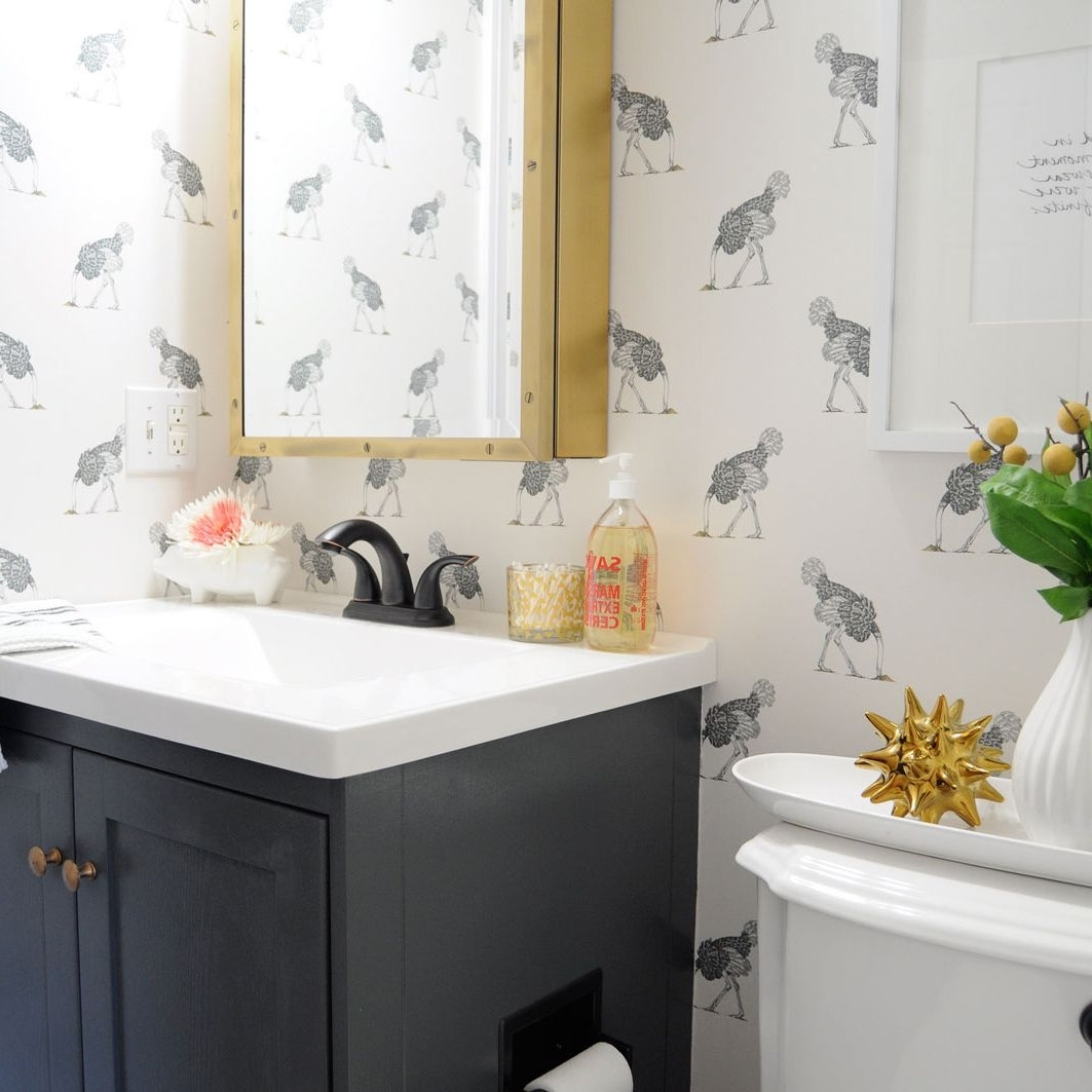 17 Ways To Beautify A Small Bathroom Without Remodeling Tiny Rental Bathroom