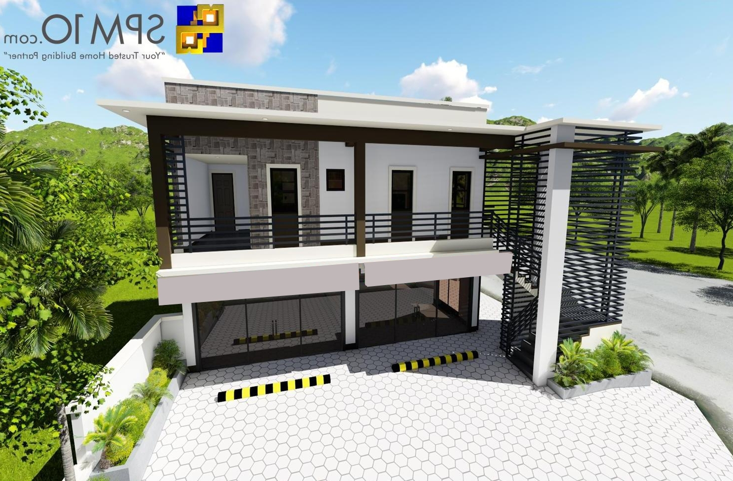 2 Storey Commercial Building Low Cost 2 Storey Apartment Design Philippines