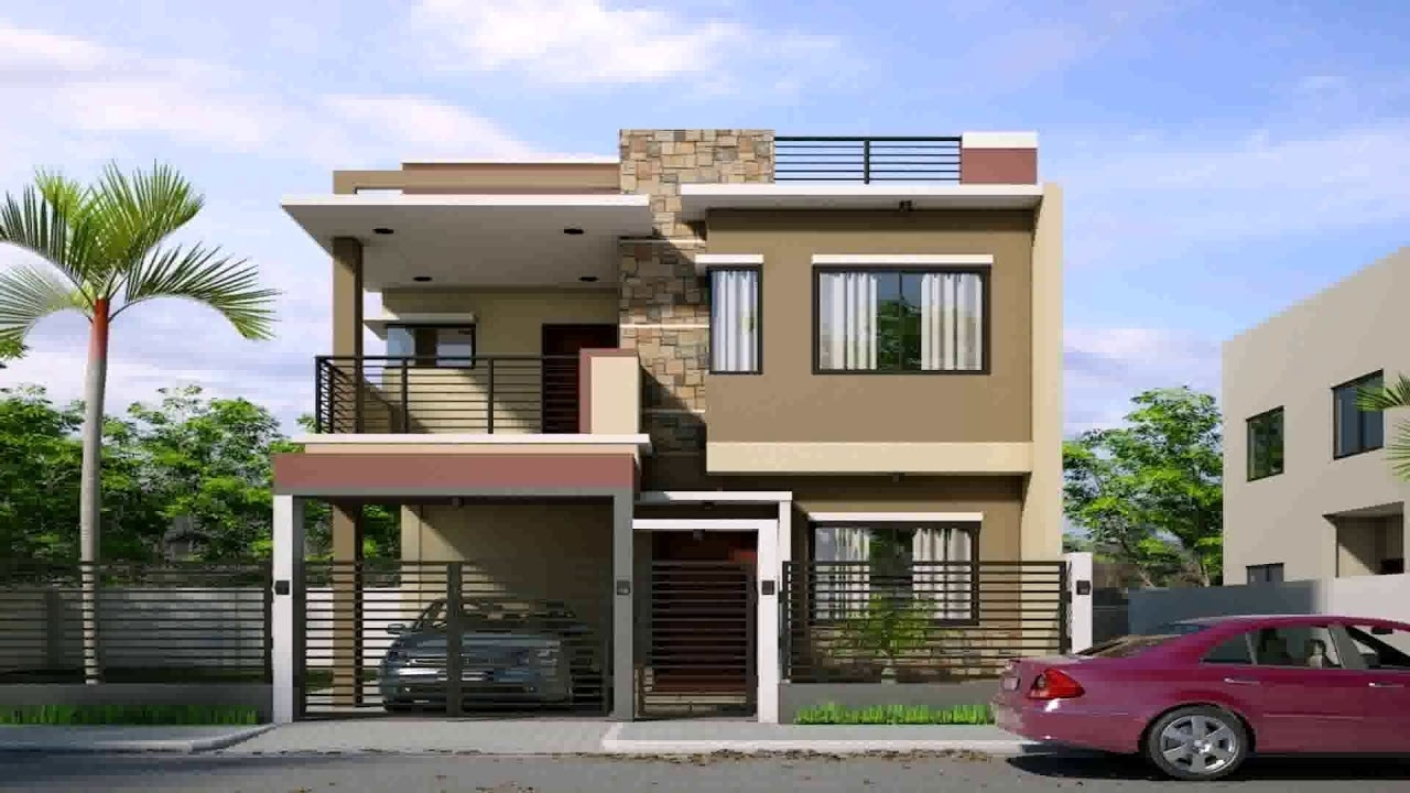 2 Storey Small House Design Philippines With Floor Plan Low Cost 2 Storey Apartment Design Philippines