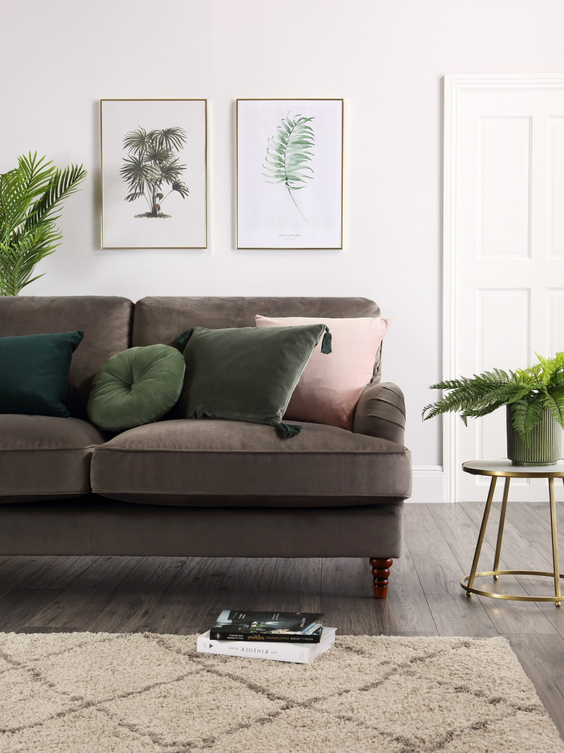 2 Ways To Style The Tropical Look Mink Coloured Living Room