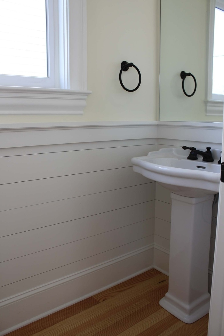 20 Beautifully Smooth, Streamlined Walls Designedtongue 40+ Tongue Groove Bathroom Inspirations