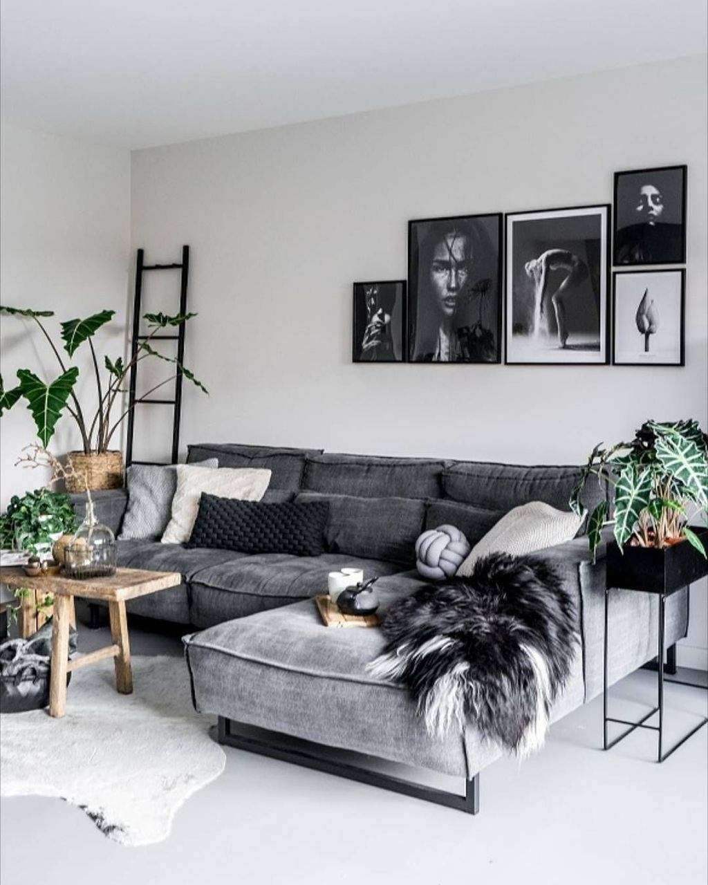20+ Cute Monochrome Living Room Decoration You Must Have 30+ Monochrome Living Room Decorating Inspirations