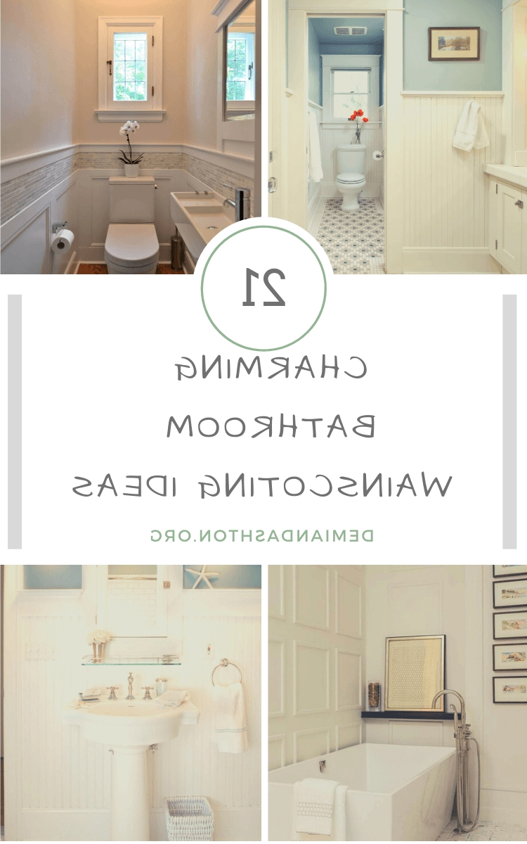 21+ Charming Bathroom Wainscoting Ideas For Your Next Project Wainscoting Bathroom Pictures
