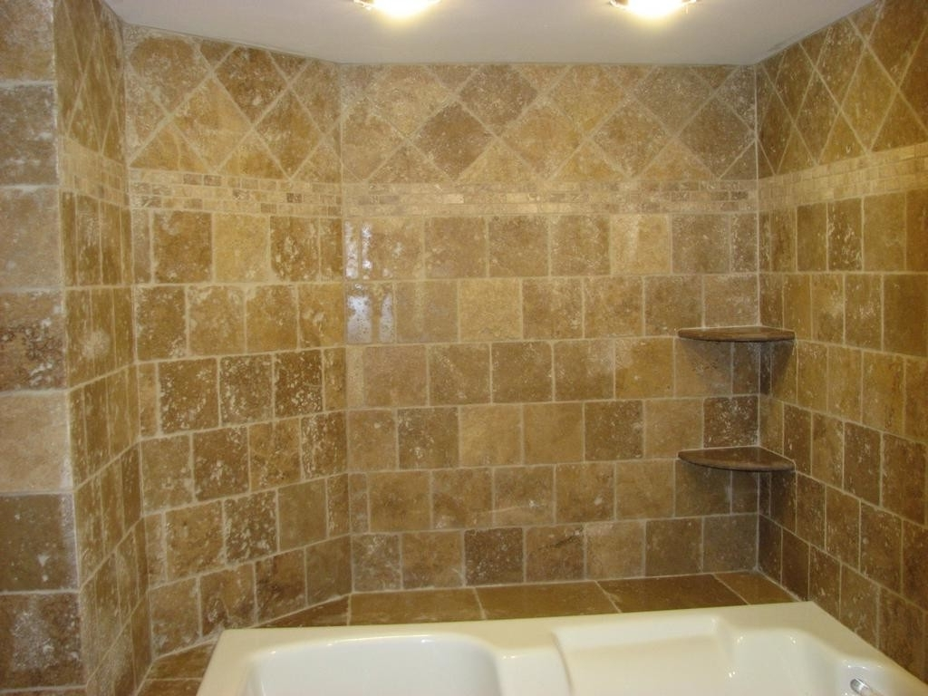 23 Cool Ideas Travertine Tile For Shower Walls With Pictures Travertine Bathroom Shower