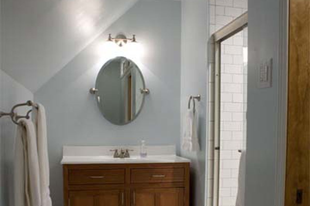 25 Bathroom Decorating Ideas On A Budget This Old House Inexpensive Basement Bathroom