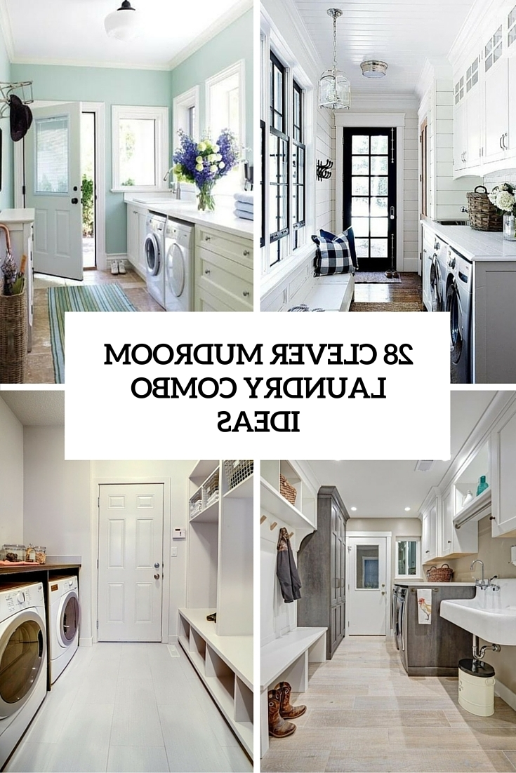 28 Clever Mudroom Laundry Combo Ideas Shelterness 20+ Designs For Laundry Room Bathroom Combination Ideas
