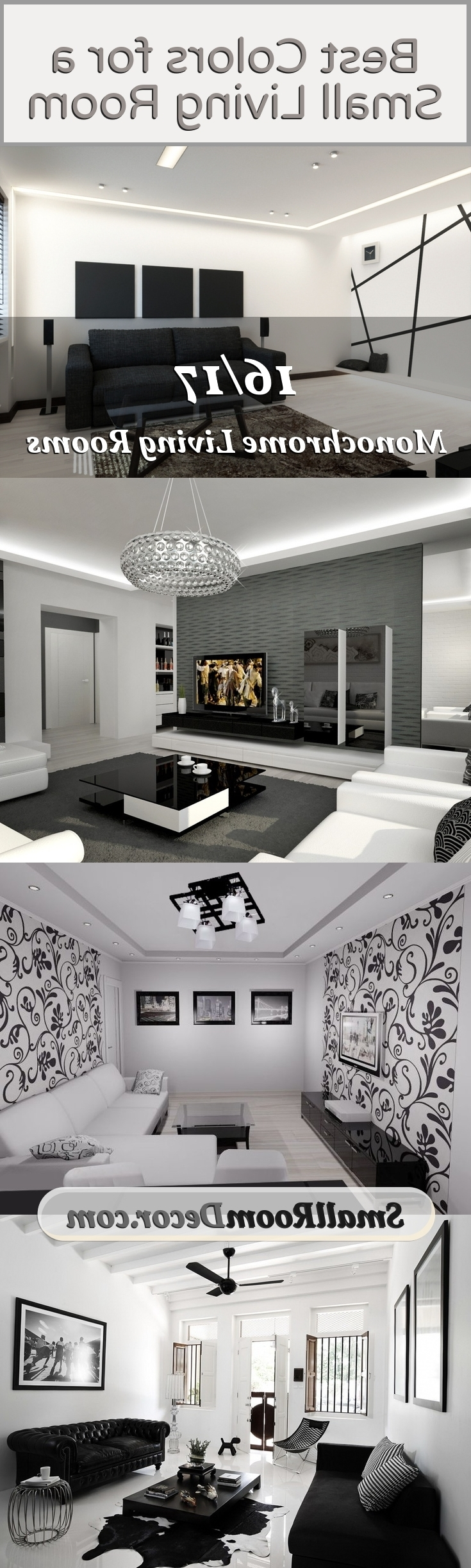 3 Rules And 17 Ideas For Small Living Room Design 40+ Monochrome Living Room Decorating Inspirations
