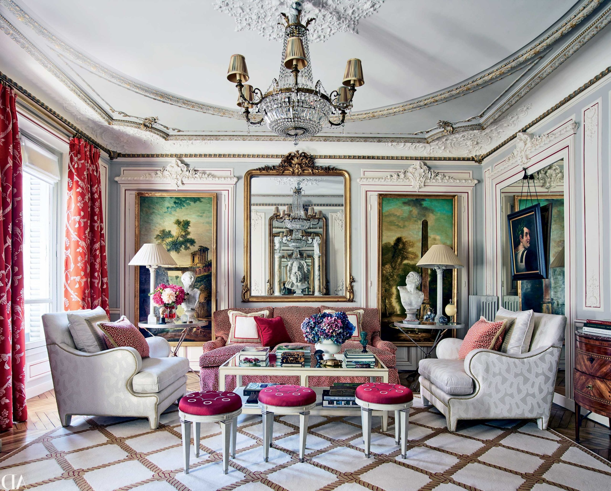 31 Living Room Ideas From The Homes Of Top Designers 10+ Architectural Digest Small Living Room Ideas