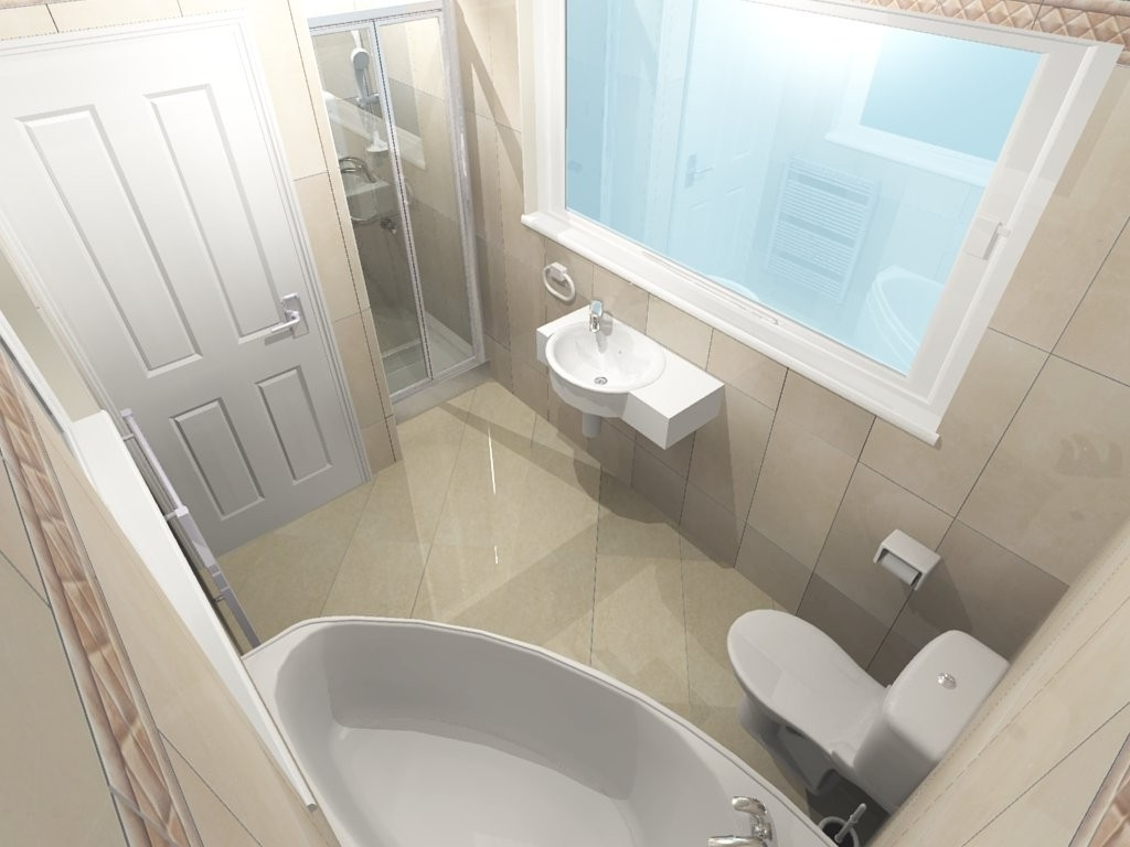 3D Bathroom Design Ideas Bathrooms Ireland.ie Small Ensuite Bathroom Ireland