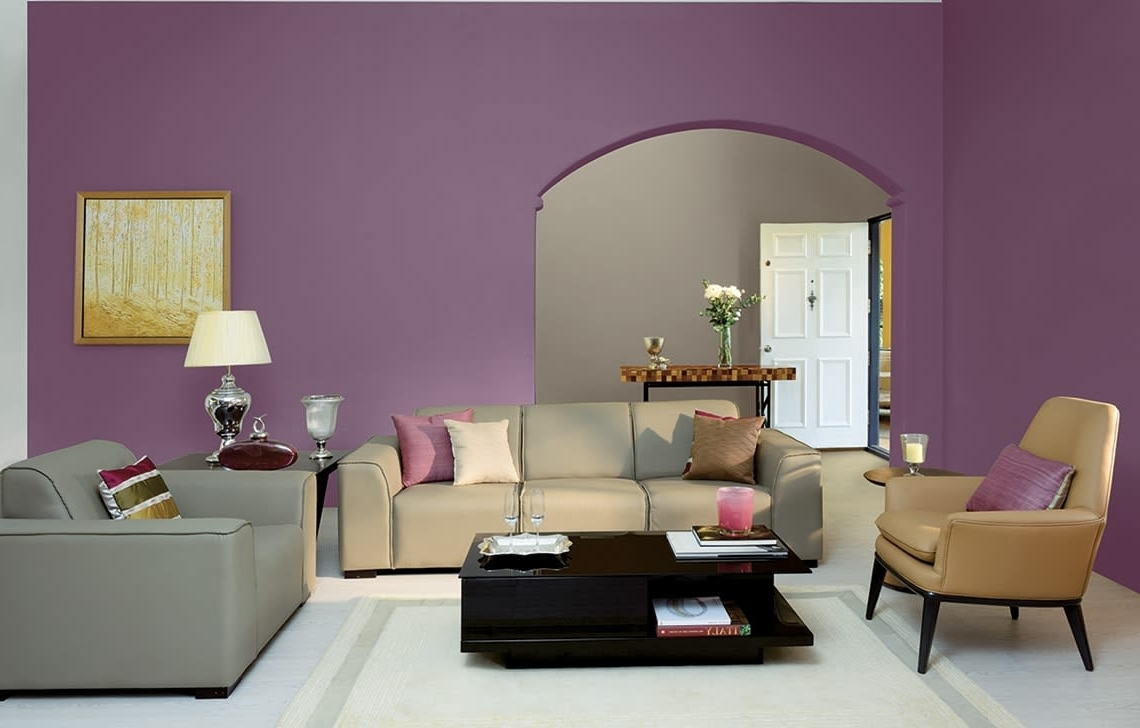 5 Soothing Room Colour Combinations Asian Paints Living Room