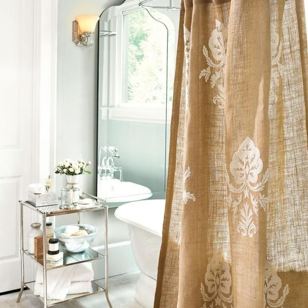 5 Ways To Decorate With Mirrors | How To Decorate | Shower 30+ Burlap Bathroom Ideas