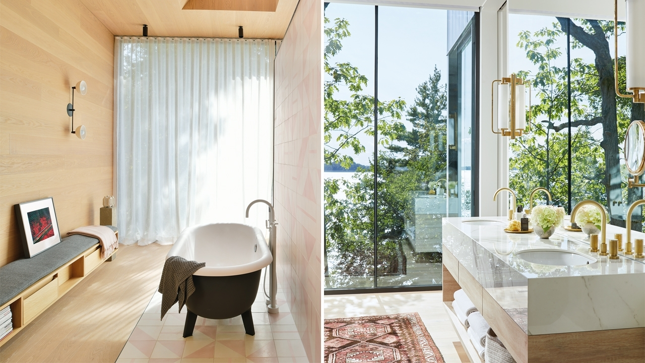 65 Beautiful Bathrooms That Would Make Anyone A Morning Romantic Bathrooms Designs