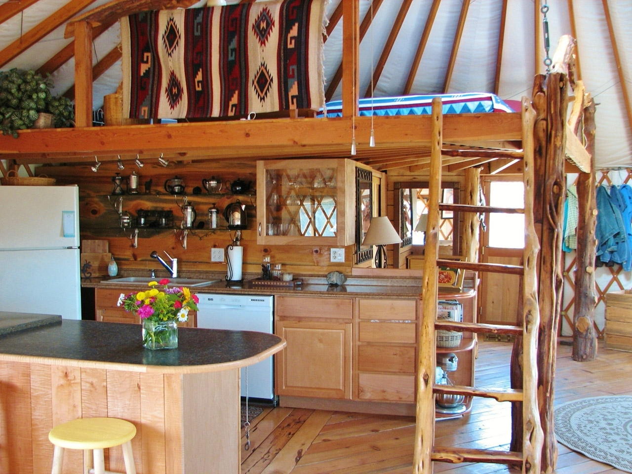 7 Space Saving Ideas You Can Use In Your Yurt Pacific Yurts 40+ Yurt Bathroom Designs Ideas