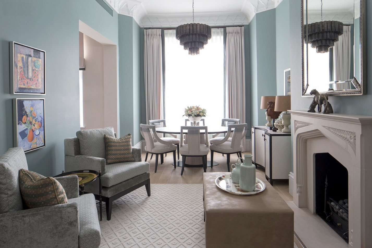 7 Ways To Use Duck Egg Blue To Spruce Up Your Living Room Living Room With Duck Egg Blue