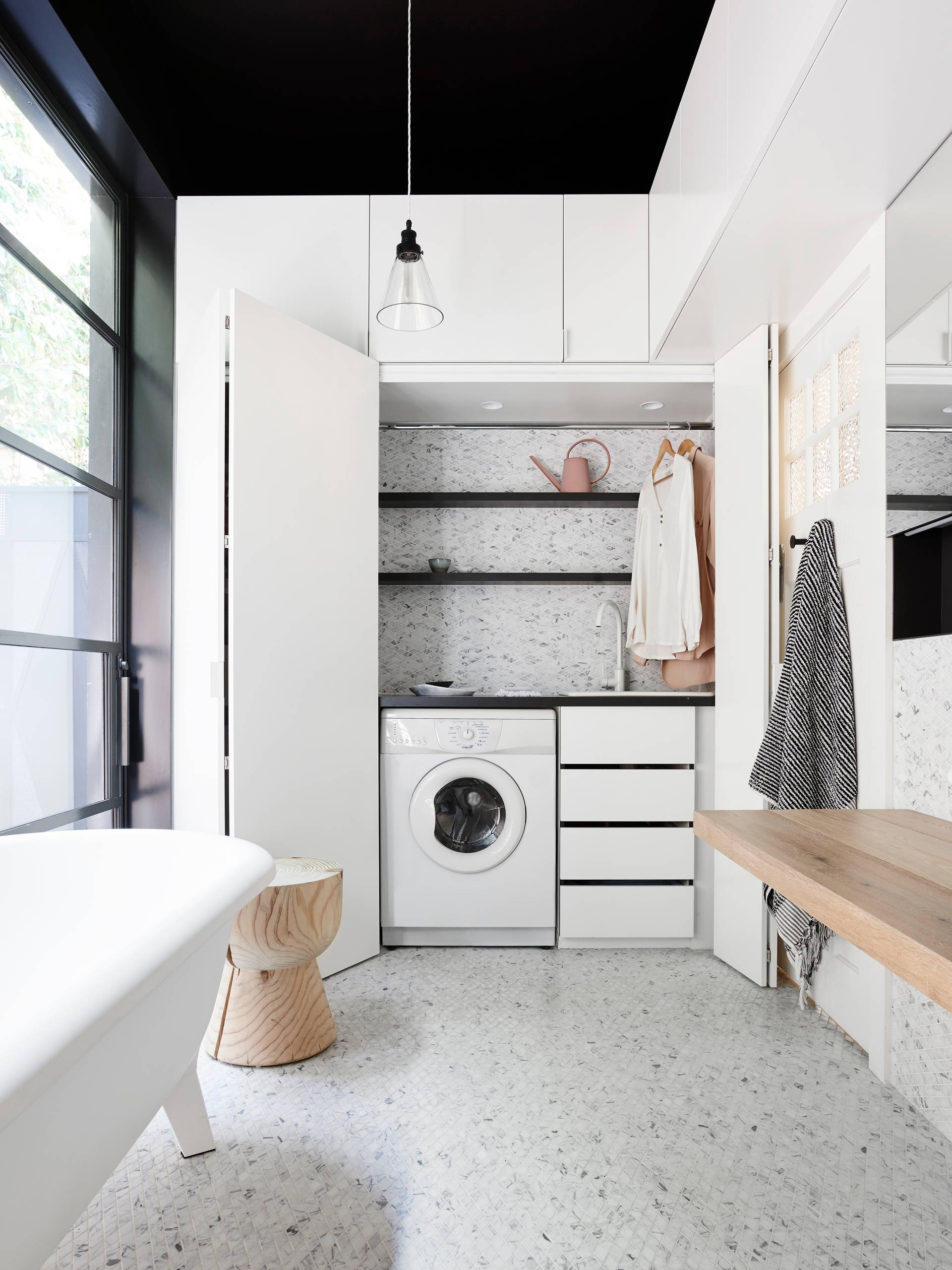 75 Beautiful Bathroom/Laundry Room Pictures & Ideas Combined Bathroom And Laundry