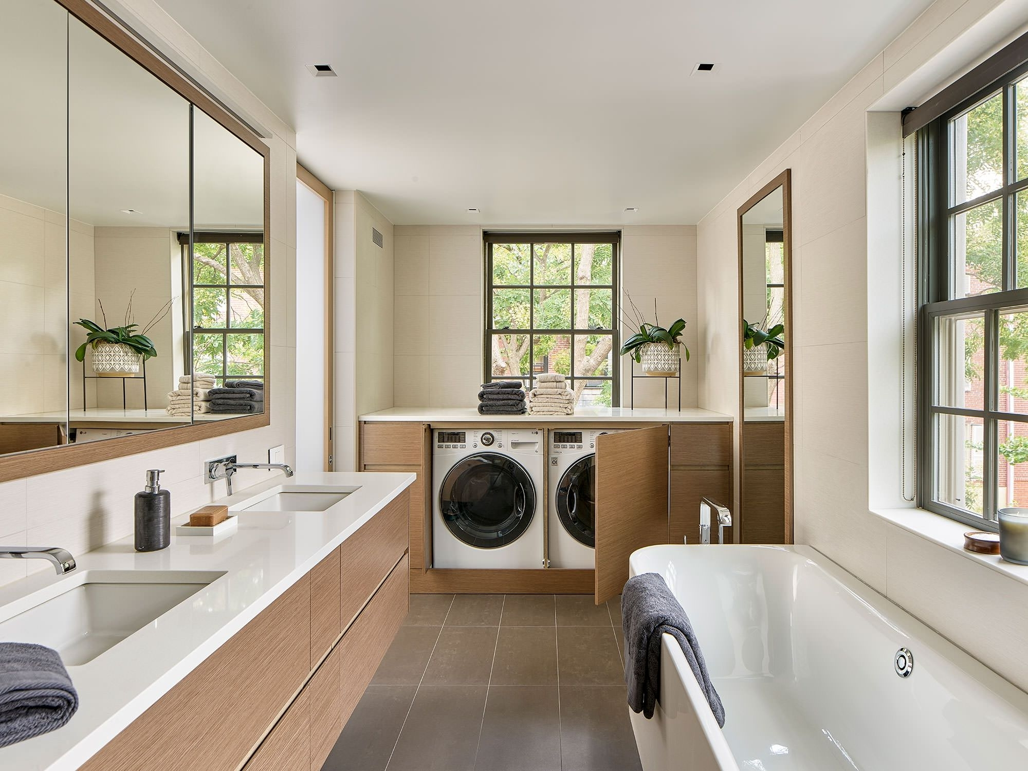 75 Beautiful Bathroom/Laundry Room Pictures & Ideas Designs For Laundry Room Bathroom Combination