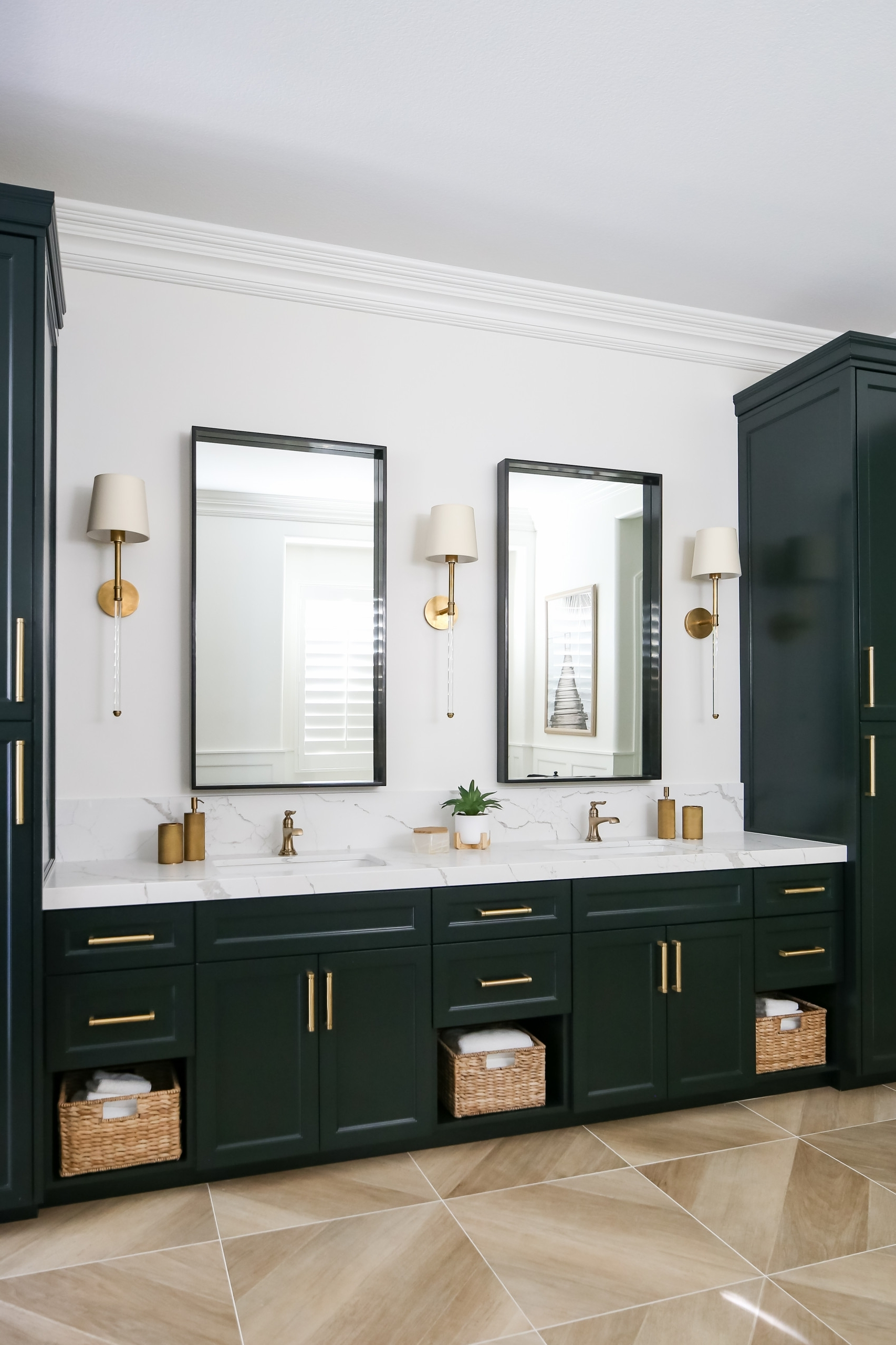 75 Beautiful Bathroom With Green Cabinets And Marble 10+ Bathroom Design Studio Ipswich Inspirations