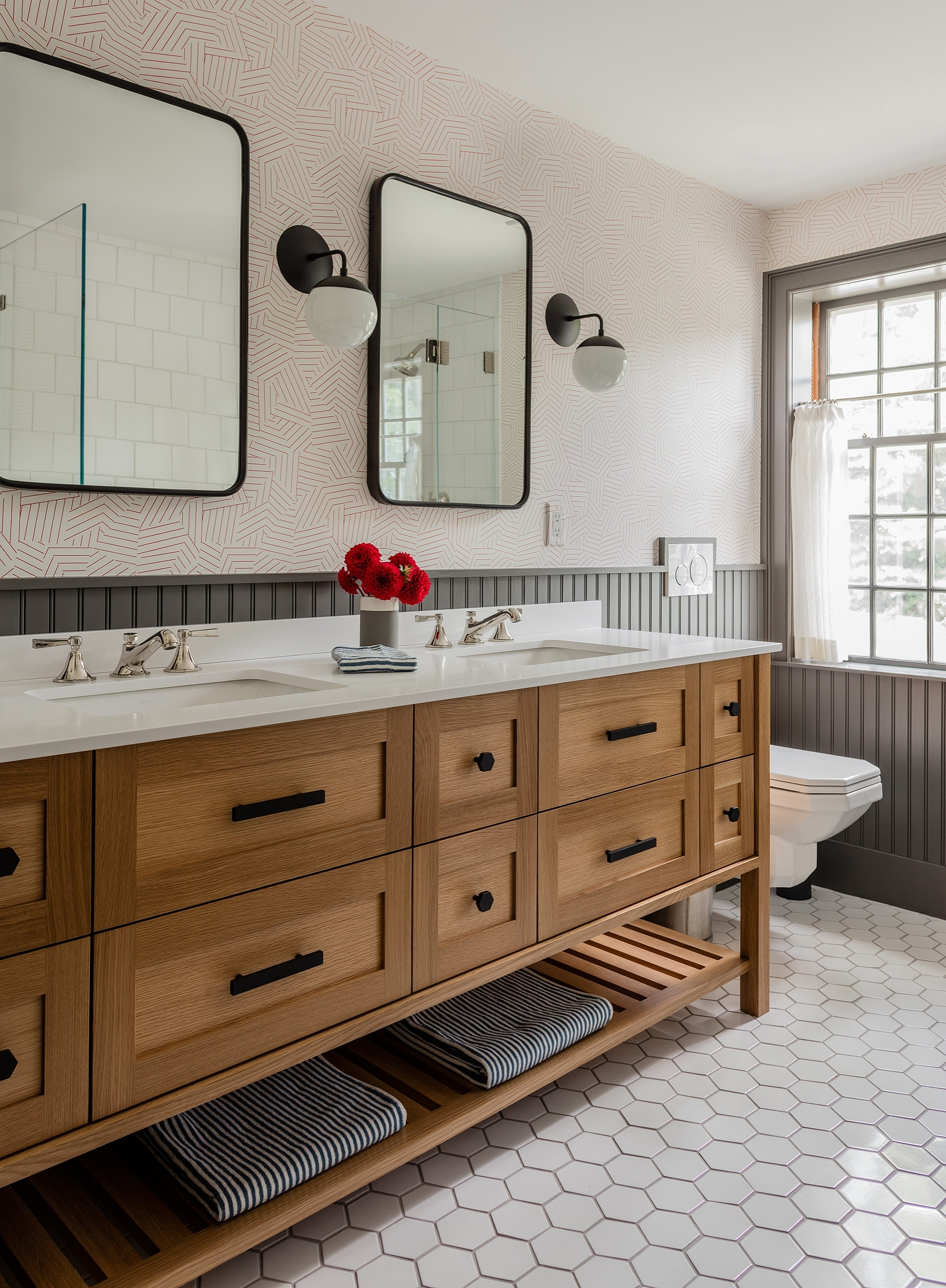 75 Beautiful Wall Paneling Bathroom Pictures & Ideas Small Bathroom Panelling