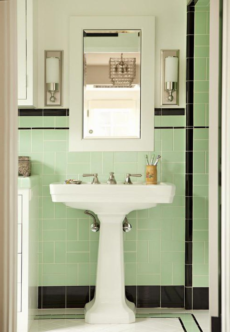 8 Ways To Spruce Up An Older Bathroom (Without Remodeling) 50S Bathroom Remodel