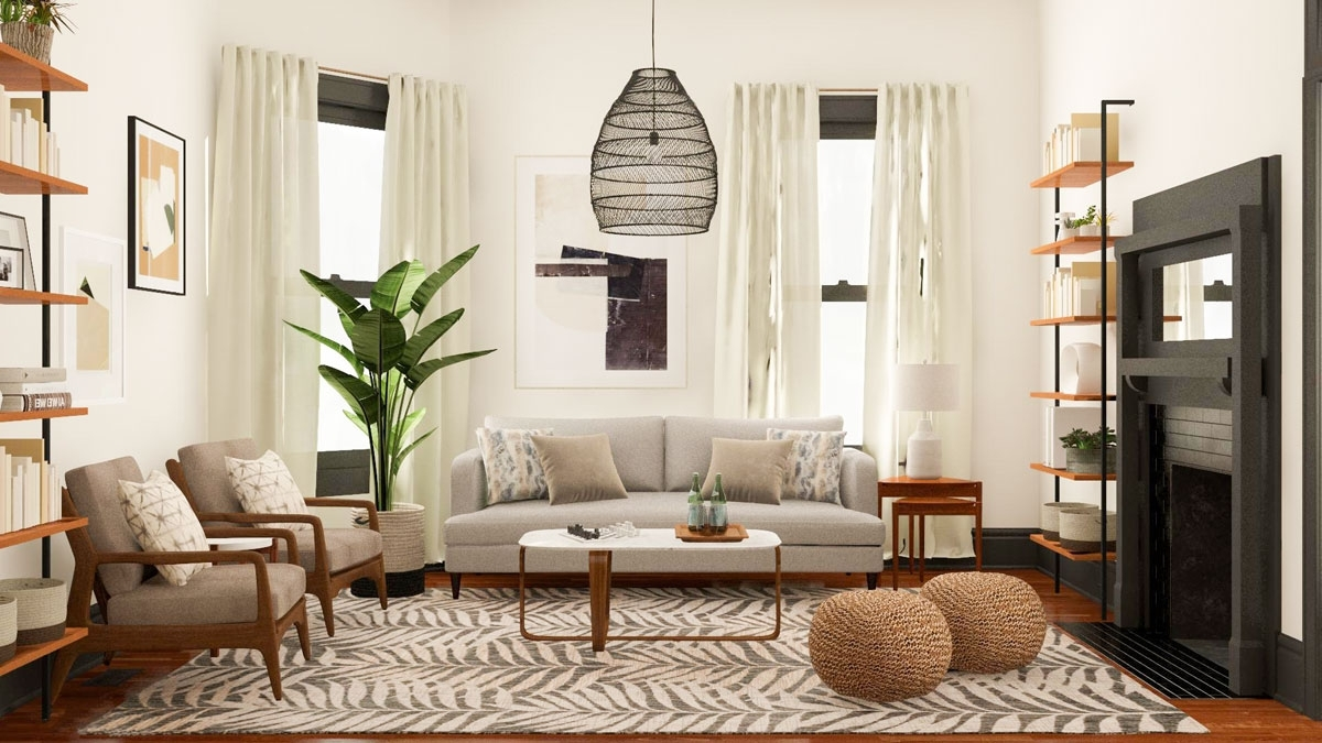 9 Awkward Living Room Design Challenges + Their Solutions Decorating An Awkward Living Room